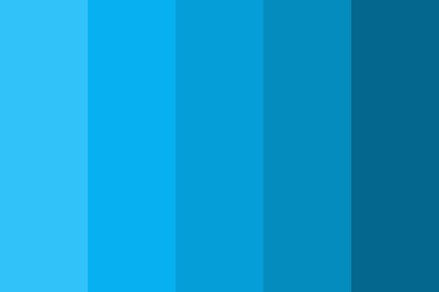 Still Feeling Blue About You Color Palette