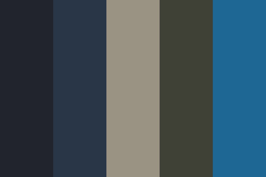 Stormy Beachfront Color Palette