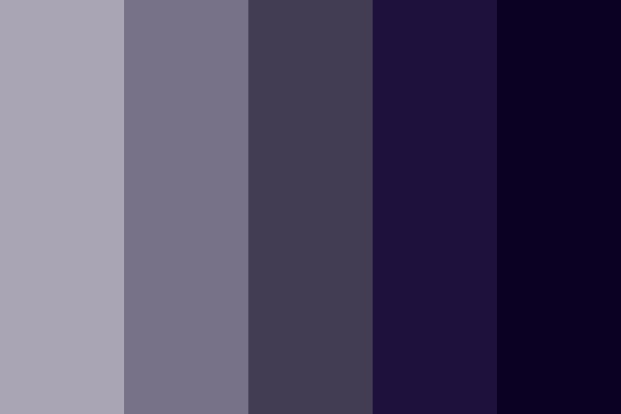Stormy Logo Swatch Color Palette