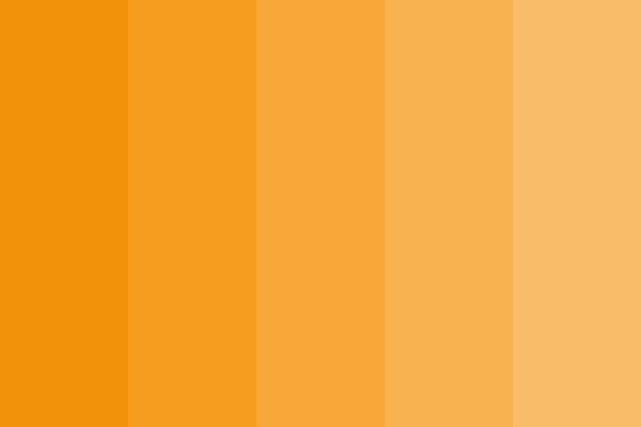 Straight Goldenrod Color Palette
