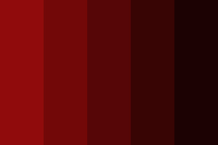 Streaming   Red Color Palette