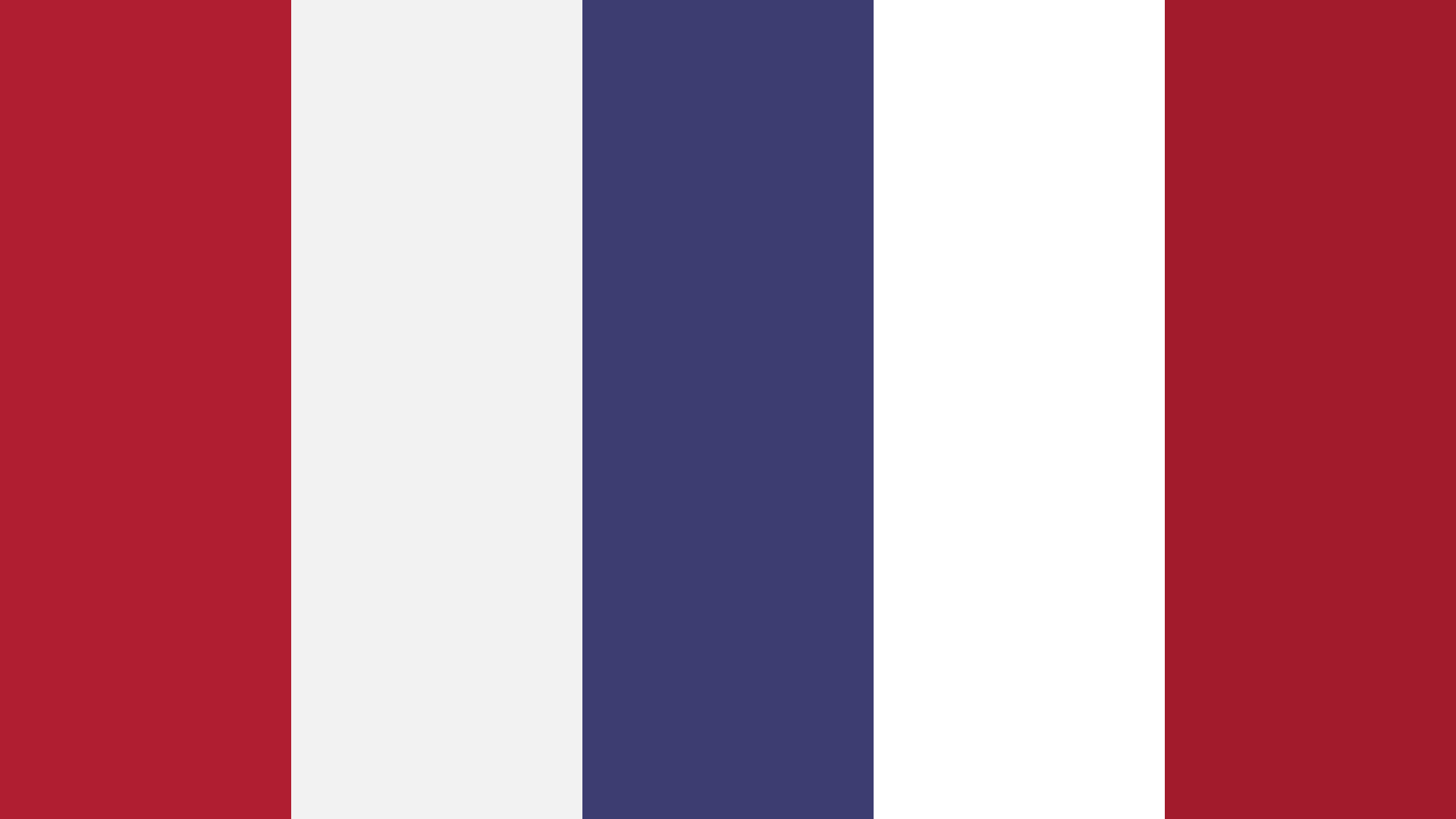 Stripes Of Red And Blue Color Palette