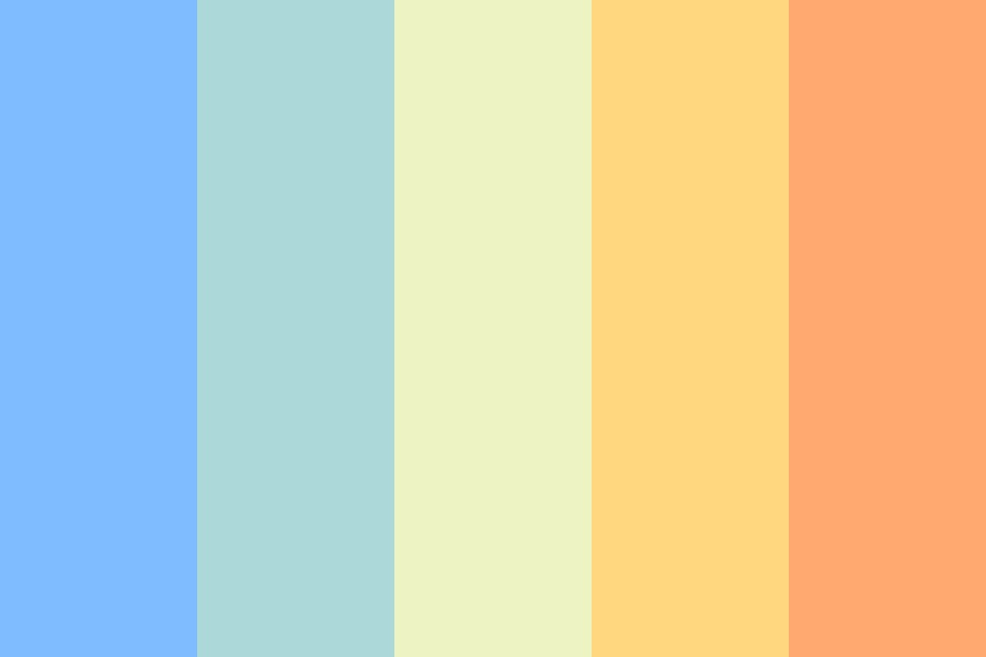 Suffer Through Blistering Rains And Scorching Deserts Color Palette