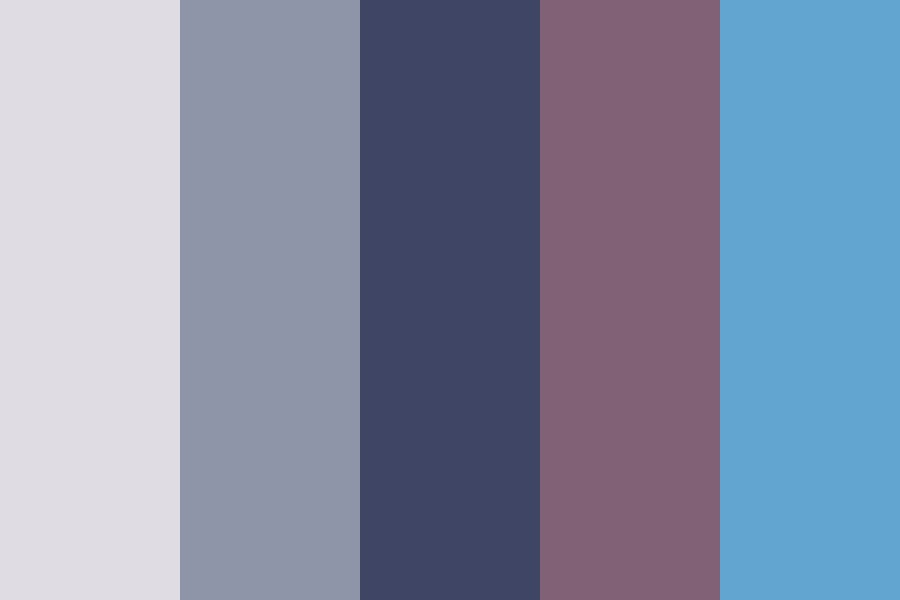 Suga Aesthetic Color Palette