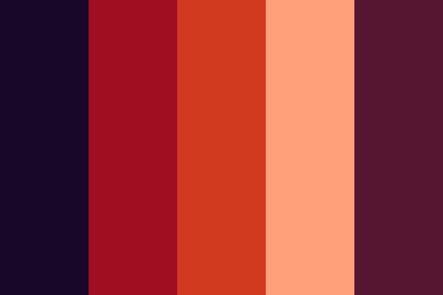 Summer And Fall Fruits Color Palette