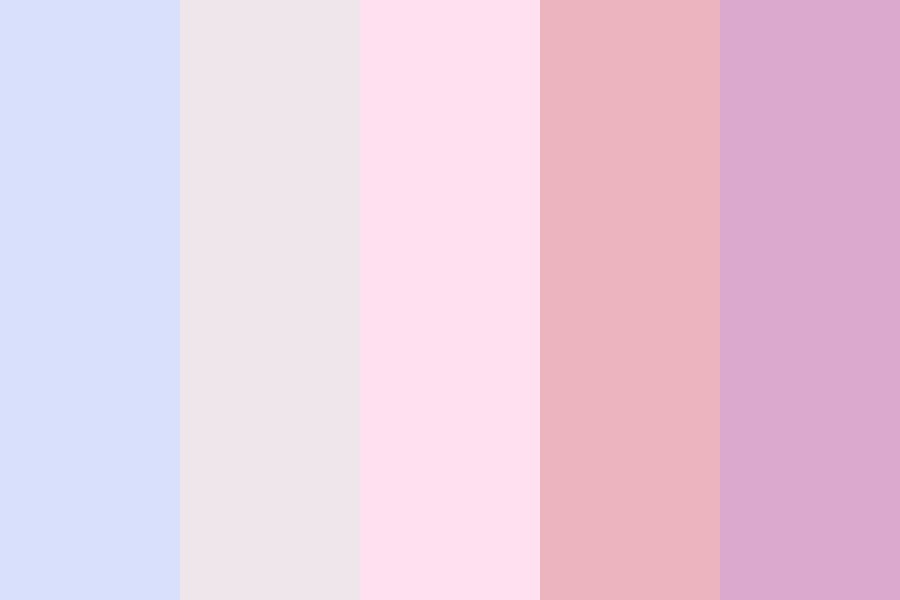 Summer Berry Smoothie Color Palette