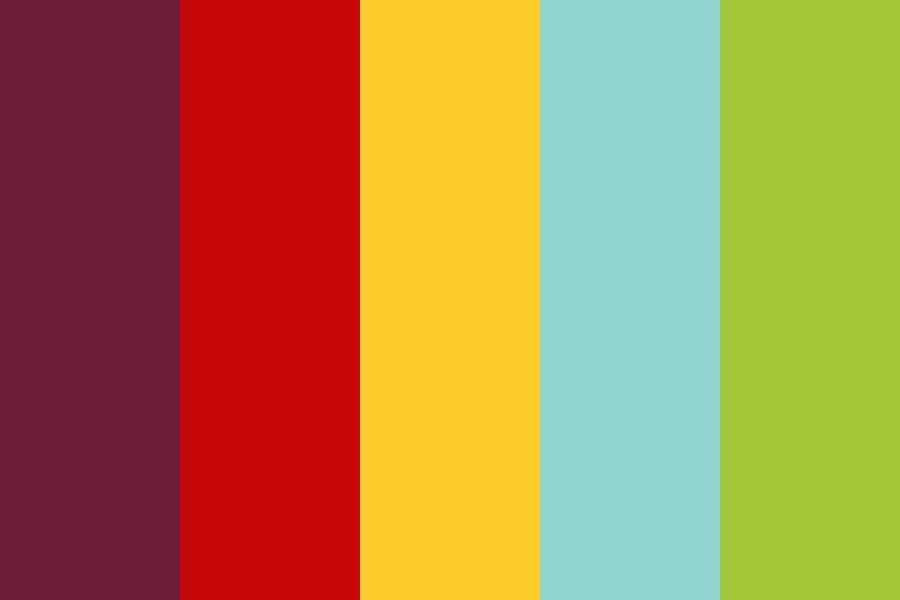 Summer Circus Color Palette