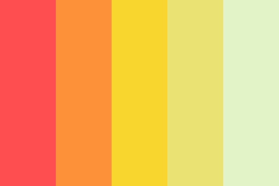 Summer Coming Color Palette