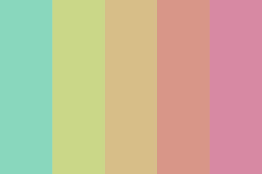 Summer Days Of Our Youth Color Palette