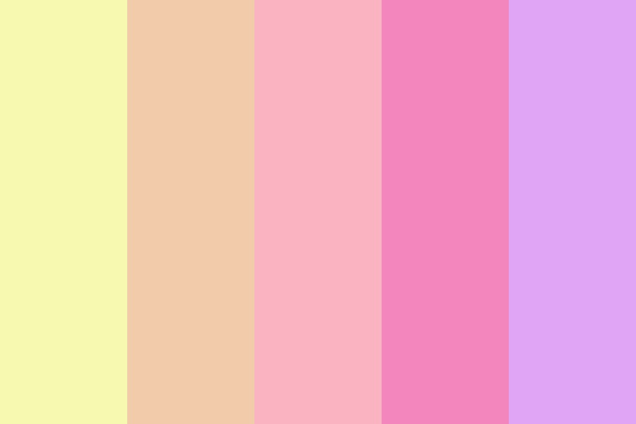 Summer Dusk Color Palette