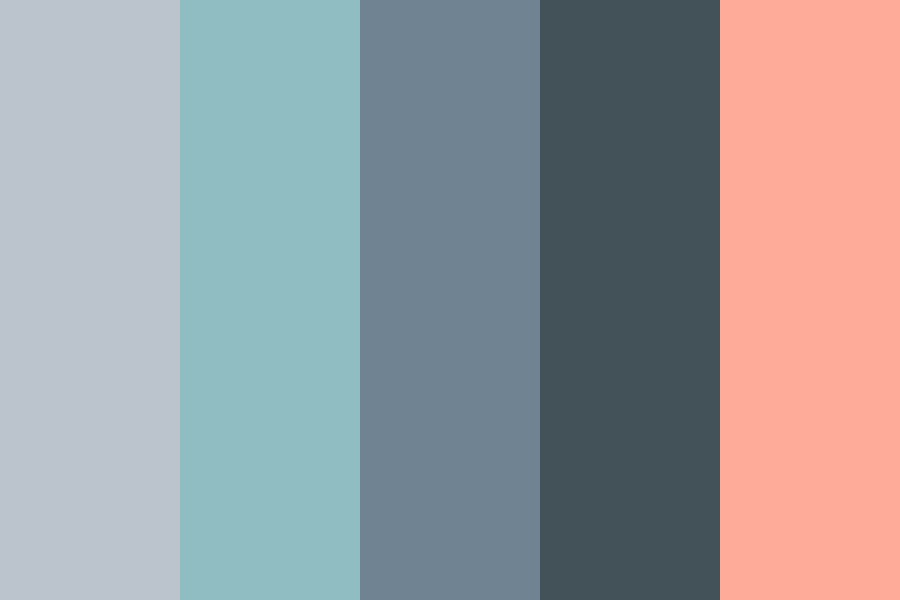 Summer Evening Color Palette