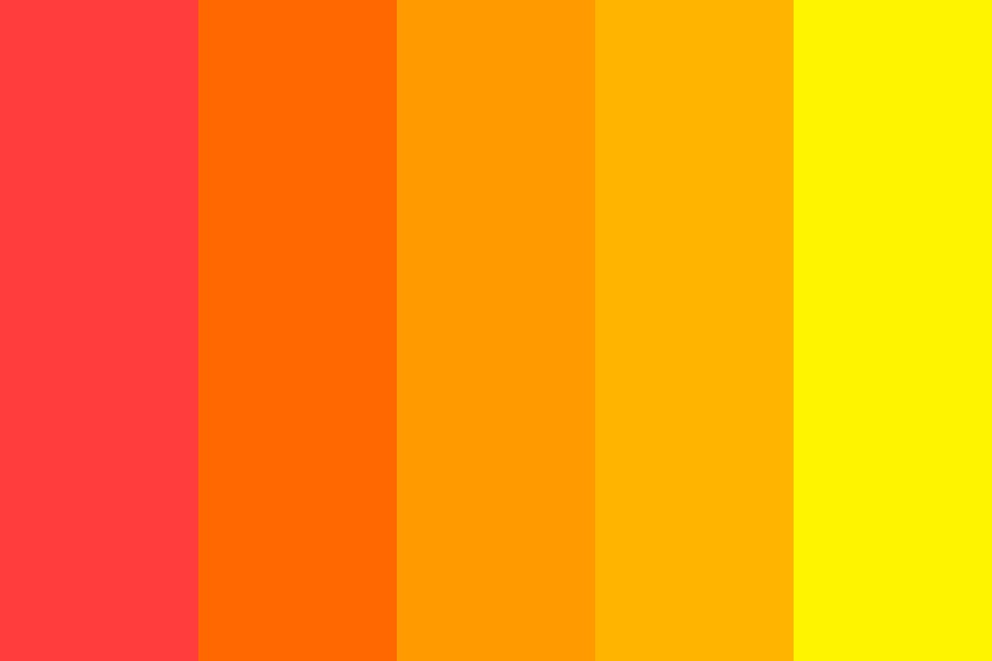 Summer Fever Color Palette