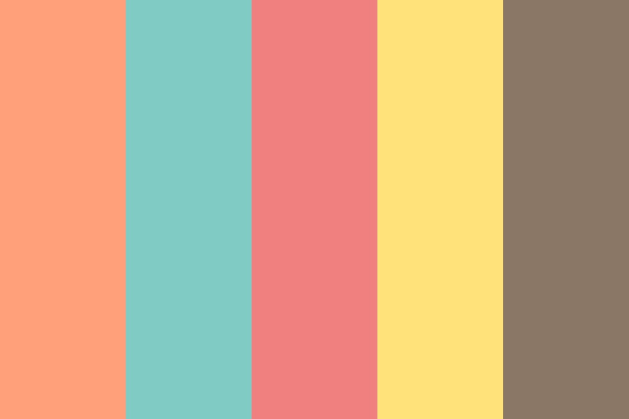 Summer Gelato Color Palette
