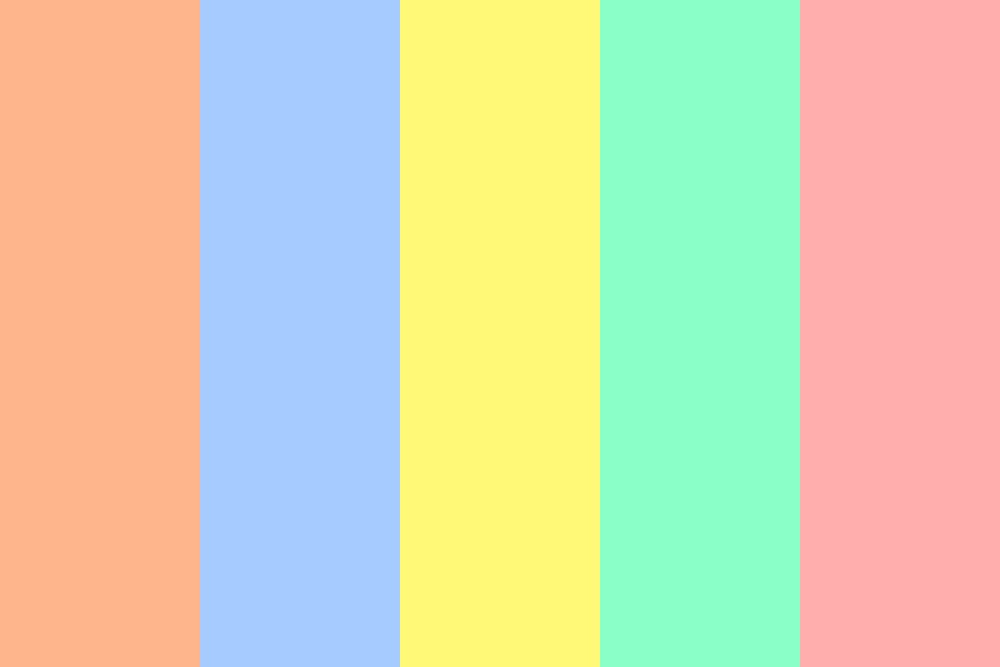 Summer Haze Color Palette