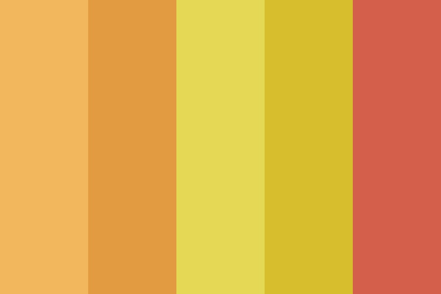 Summer Heat Color Palette