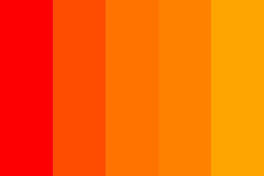 Summer Ice Pop Color Palette