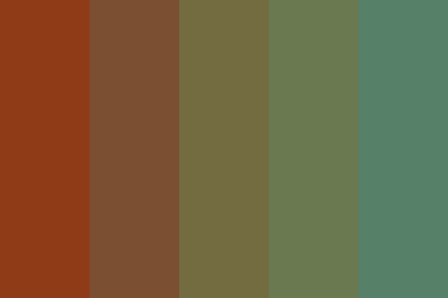 Summer Lakes Color Palette
