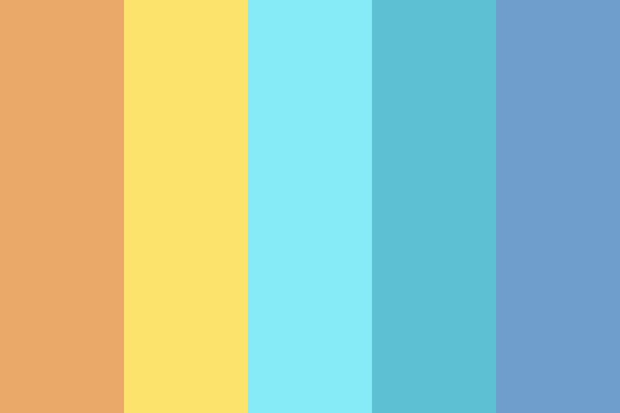 Summer Long Gone Color Palette
