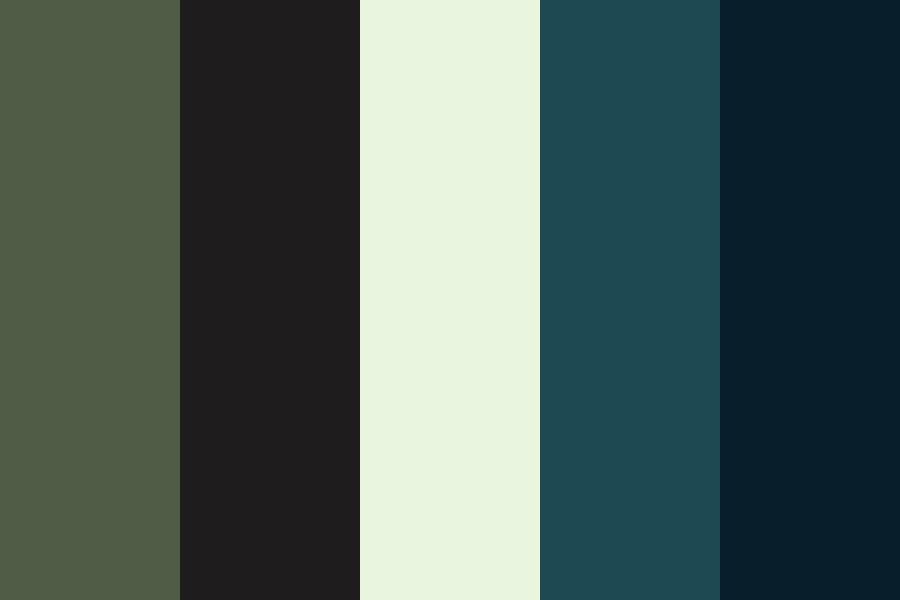 Summer Nights Outside Color Palette