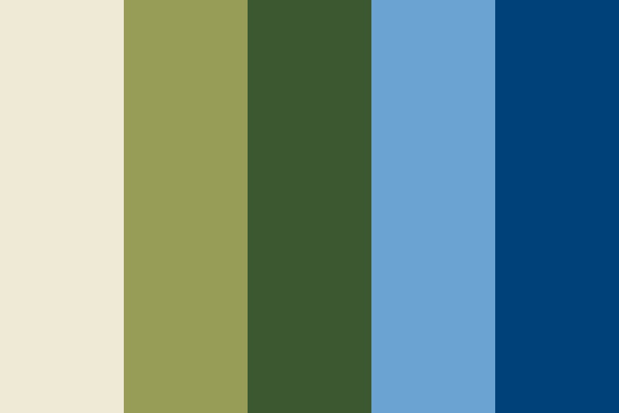 Summer On The Hill Color Palette