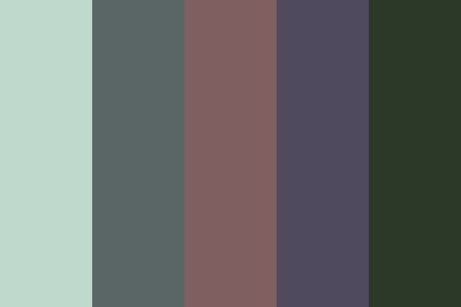 Summer Ravine Color Palette