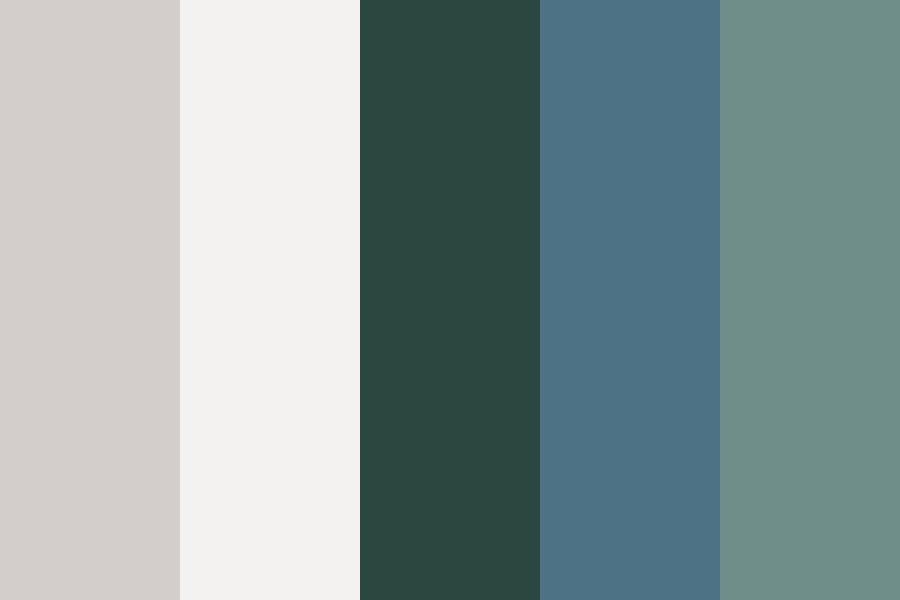 Summer Soft Branding Color Palette