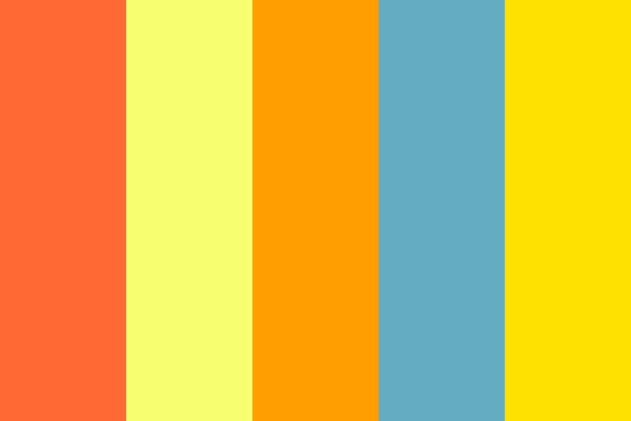 Summer Time Color Palette