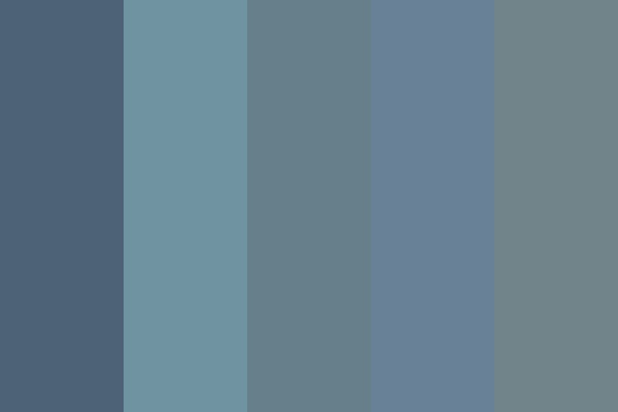 Summer Time Sadness Color Palette