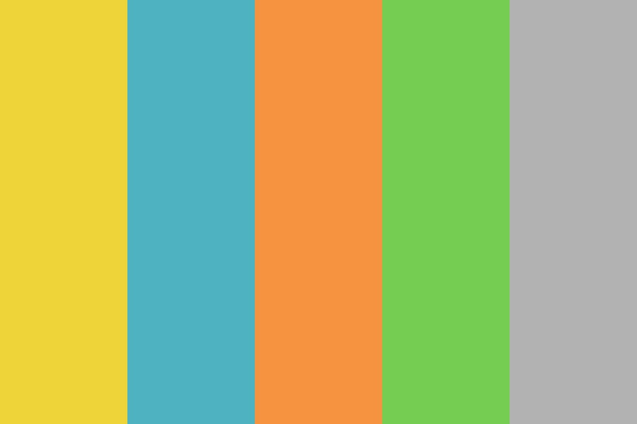 Summers Edge Color Palette