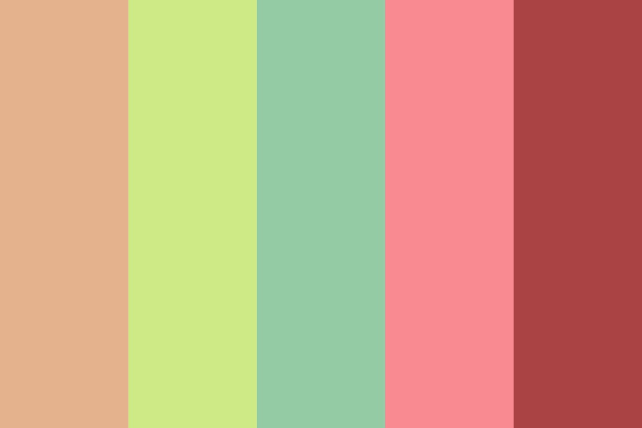 Summershine Circus Color Palette