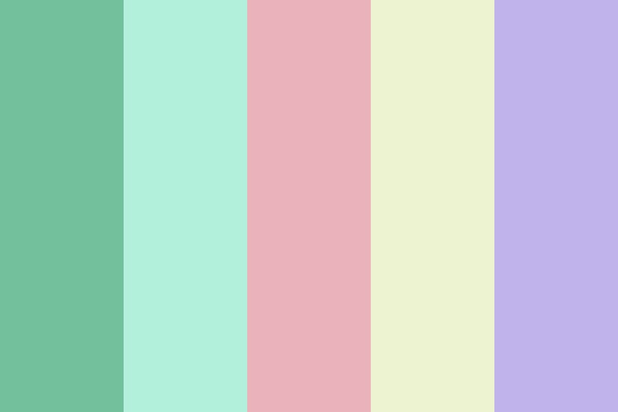 Summertime Snake Color Palette