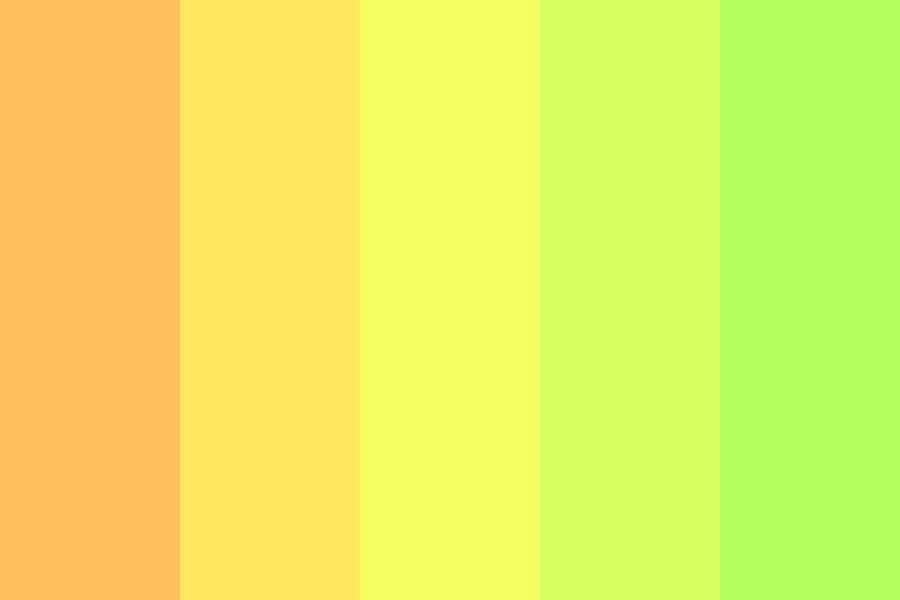 Sun And Grass Color Palette