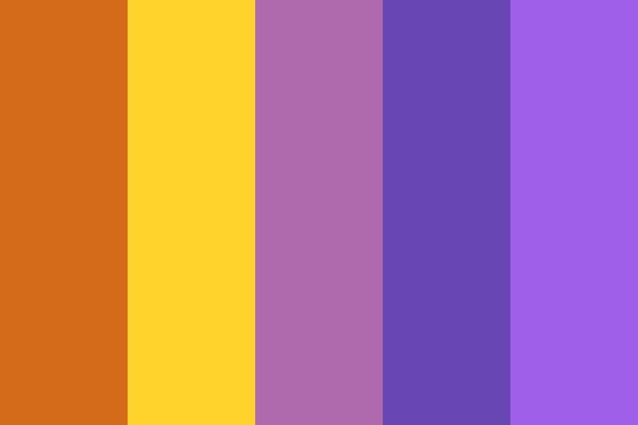 Sun And Moon Theater Color Palette