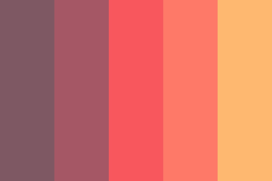 Sun Blue Sky Color Palette
