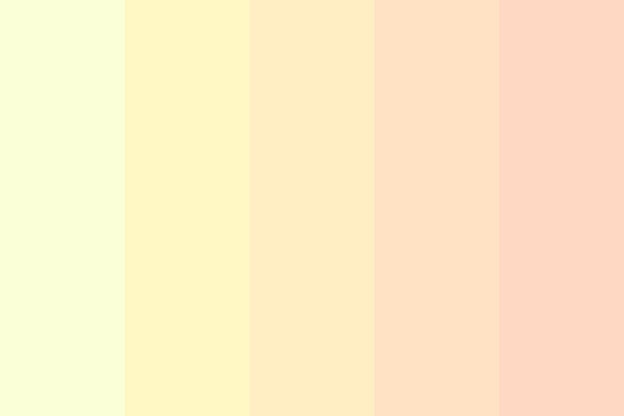 Sun In The Summer Color Palette
