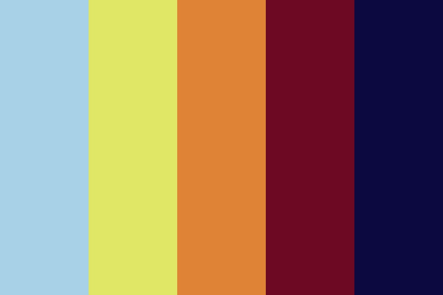 Sunfall Color Palette