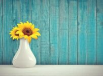 Sunflowers In A Vase Color Palette