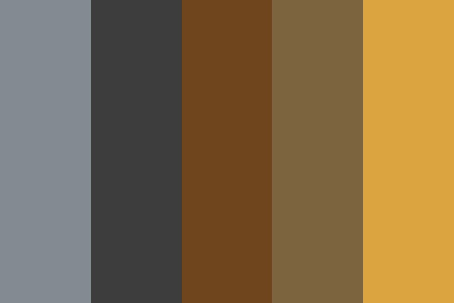 Sunflowerss Color Palette