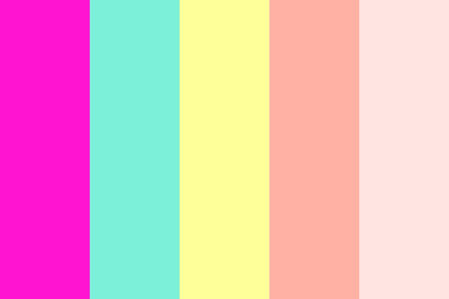 Sunny Beach Day Color Palette
