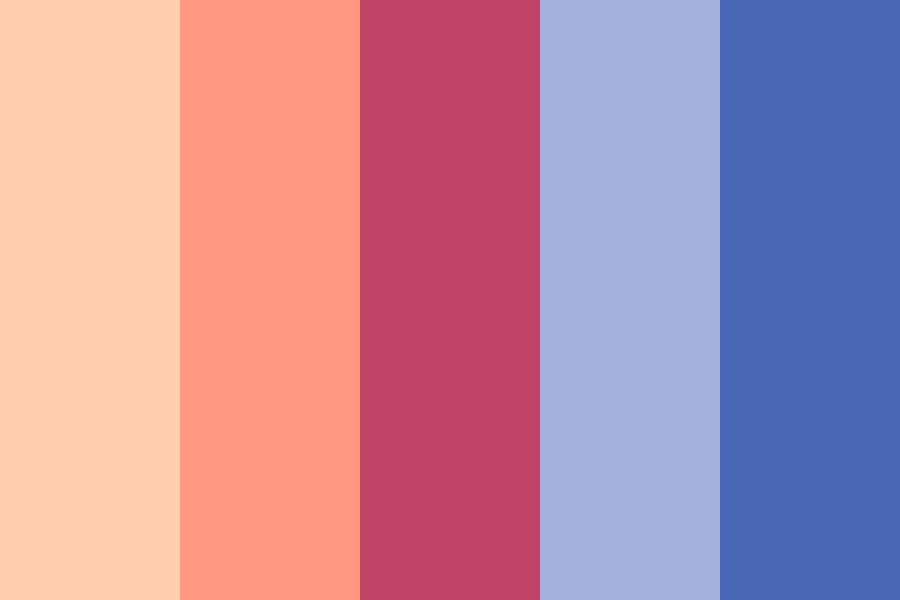 Sunrise Over The Mountains Color Palette