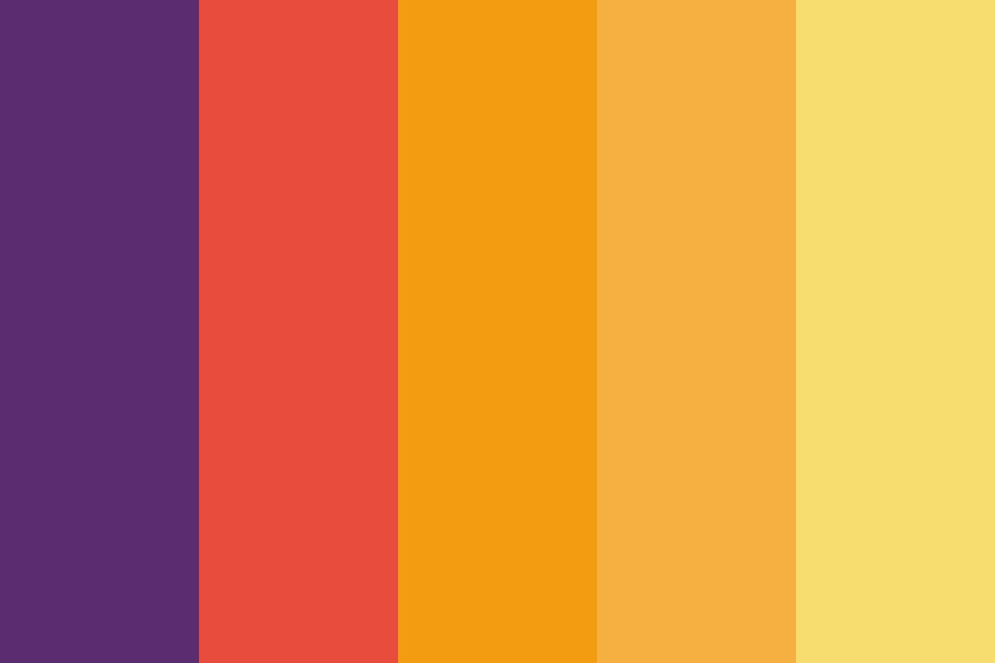 Sunrise Sunset Color Palette