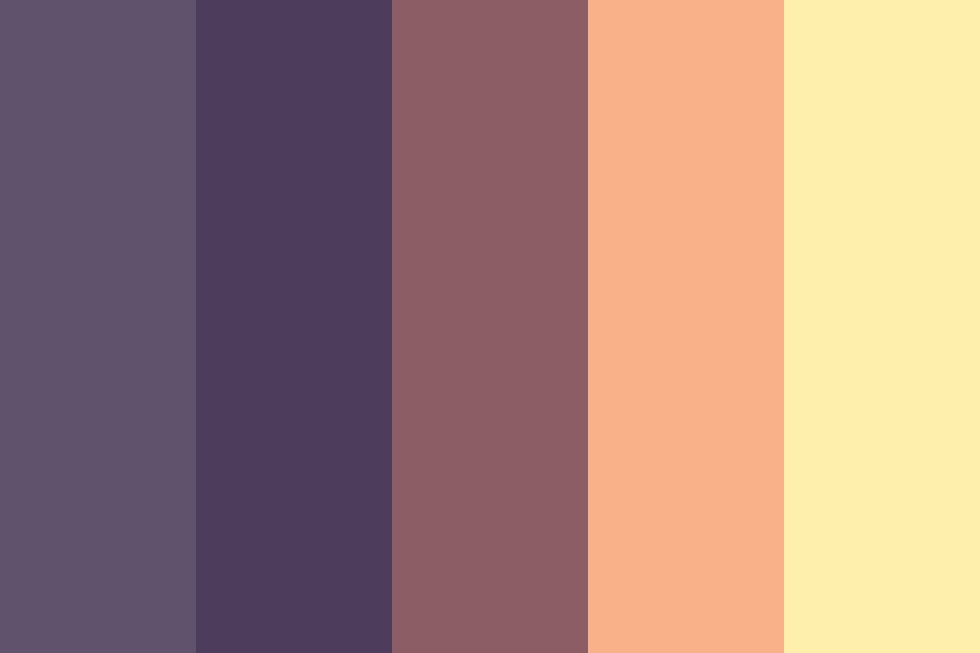 Sunset And Night Color Palette