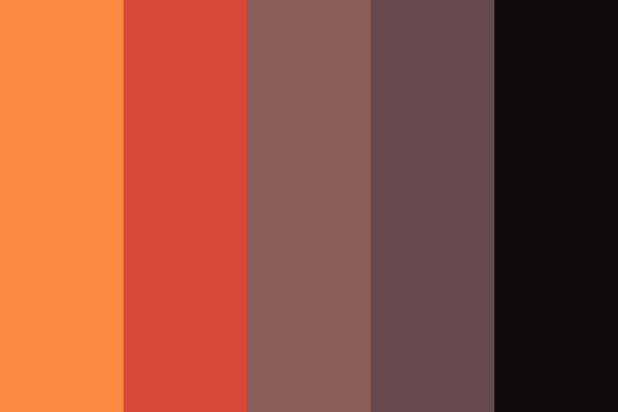 Sunset At Midnight Color Palette