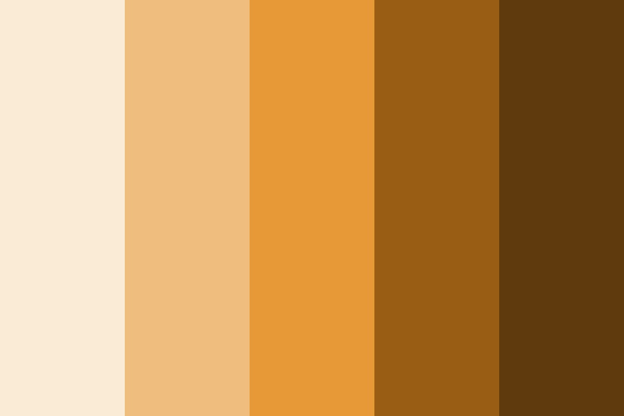 Sunset Browns Color Palette