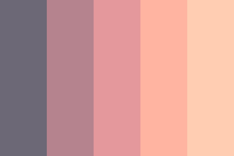 Sunset In A Daydream Color Palette