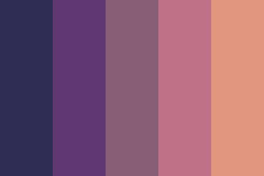 Sunset Lover Color Palette