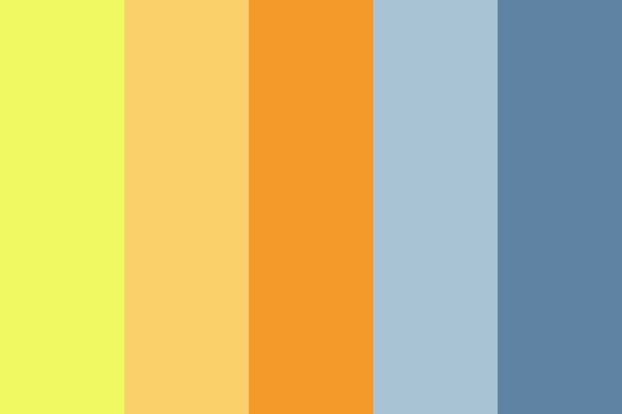 Sunset On The Savannah Color Palette