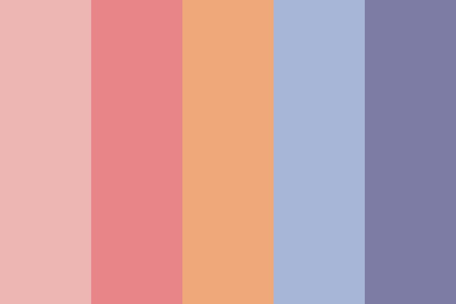 Sunset Sunrise Color Palette
