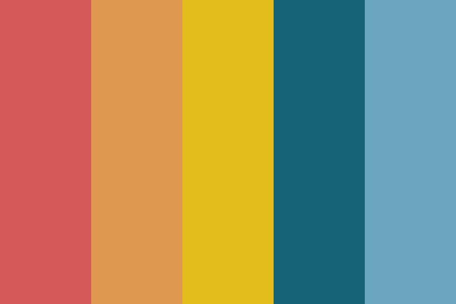 Sunset Vibes Color Palette