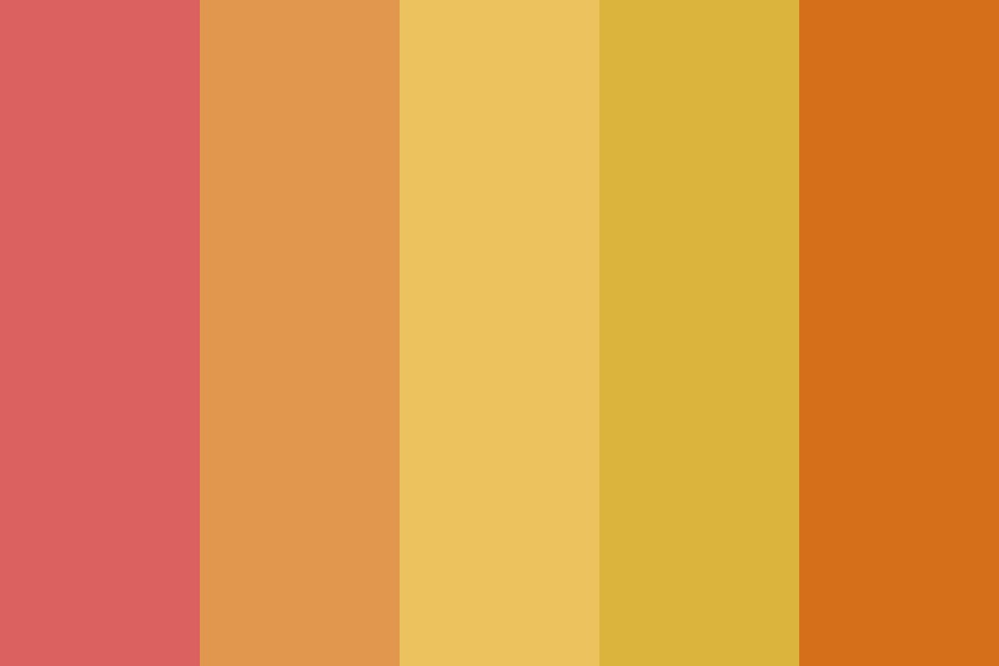 Sunsets And Jet Planes Color Palette